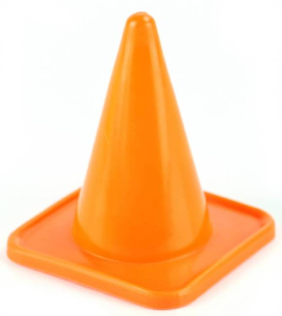 100mm Witches Hat Training Cones