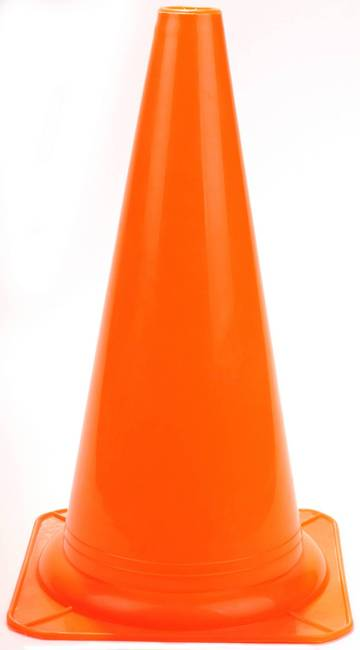 380mm Witches Hat Training Cones