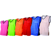 OAS Training Mesh Vests / Bibs for Team Sports - 6 Sizes - 9 Colours