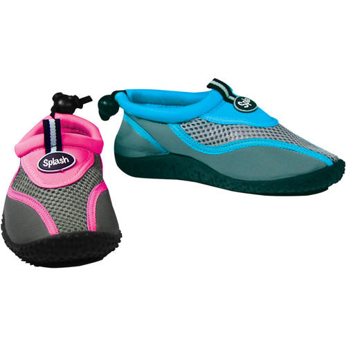 Blue Junior Size 1 Splash Aqua Shoes for Kids