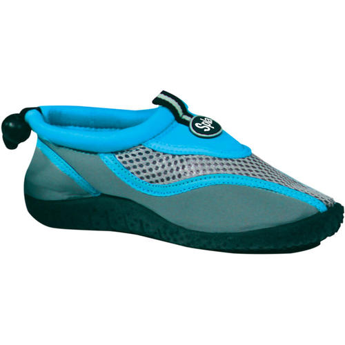 Blue Junior Size 2 Splash Aqua Shoes for Kids