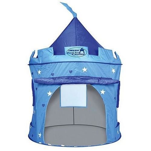 Kid's Beach Tent Castle Blue