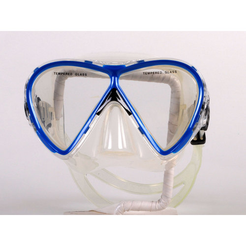Clearance - Dive Snorkel Blue-clear Mask