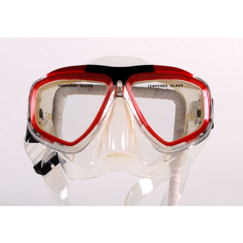 Clearance - Dive Snorkel Red Black Mask