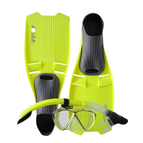 Clearance Size 8-9 Adult Snorkeling Set