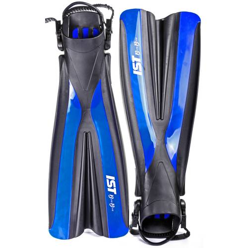 Size US7 Scuba Diving Fins Blue