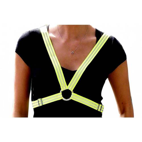 Monkeysee Hi Vis Harness Fluoro Yellow Large
