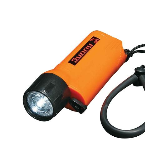 CLEARANCE LED 3 Watt ORANGE Dive Torch to 60m