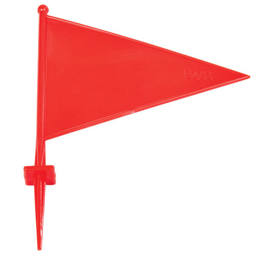 OAS Marking Flag PVC - Red