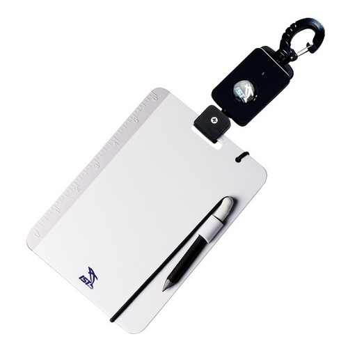 Underwater Writing Slate with Retractor