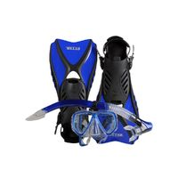 IST Otter Snorkeling Set BLUE (Medium size 7-10)