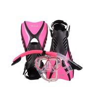 IST Otter Snorkelling Set PINK (Small size 4-7)