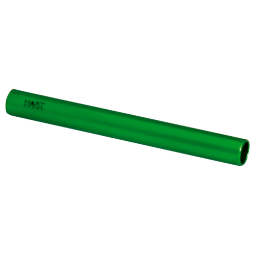 Aluminium Relay Baton - Junior Green