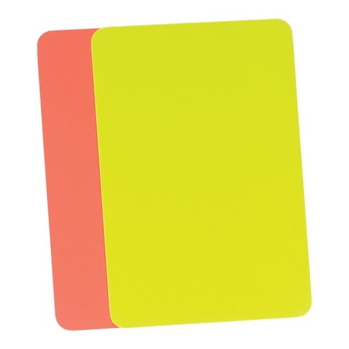 Referee Cards Red/Yellow