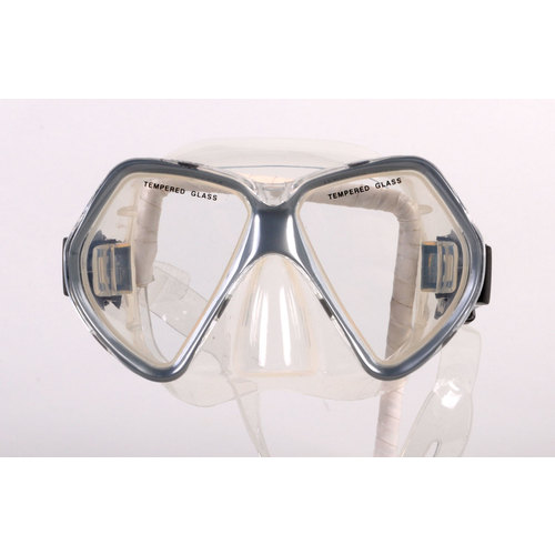 Clearance - Dive Snorkel Grey Mask