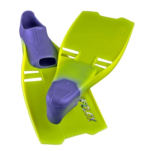 IST F36 Yellow Snorkelling Fins SMALL