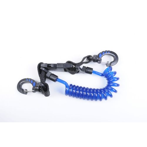 Easy Clip Coiled Lanyard SP6A