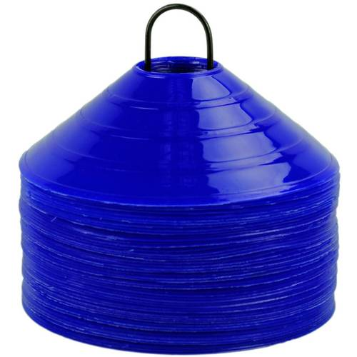OAS Disc Marker Training Cones  Set of 50 - Blue
